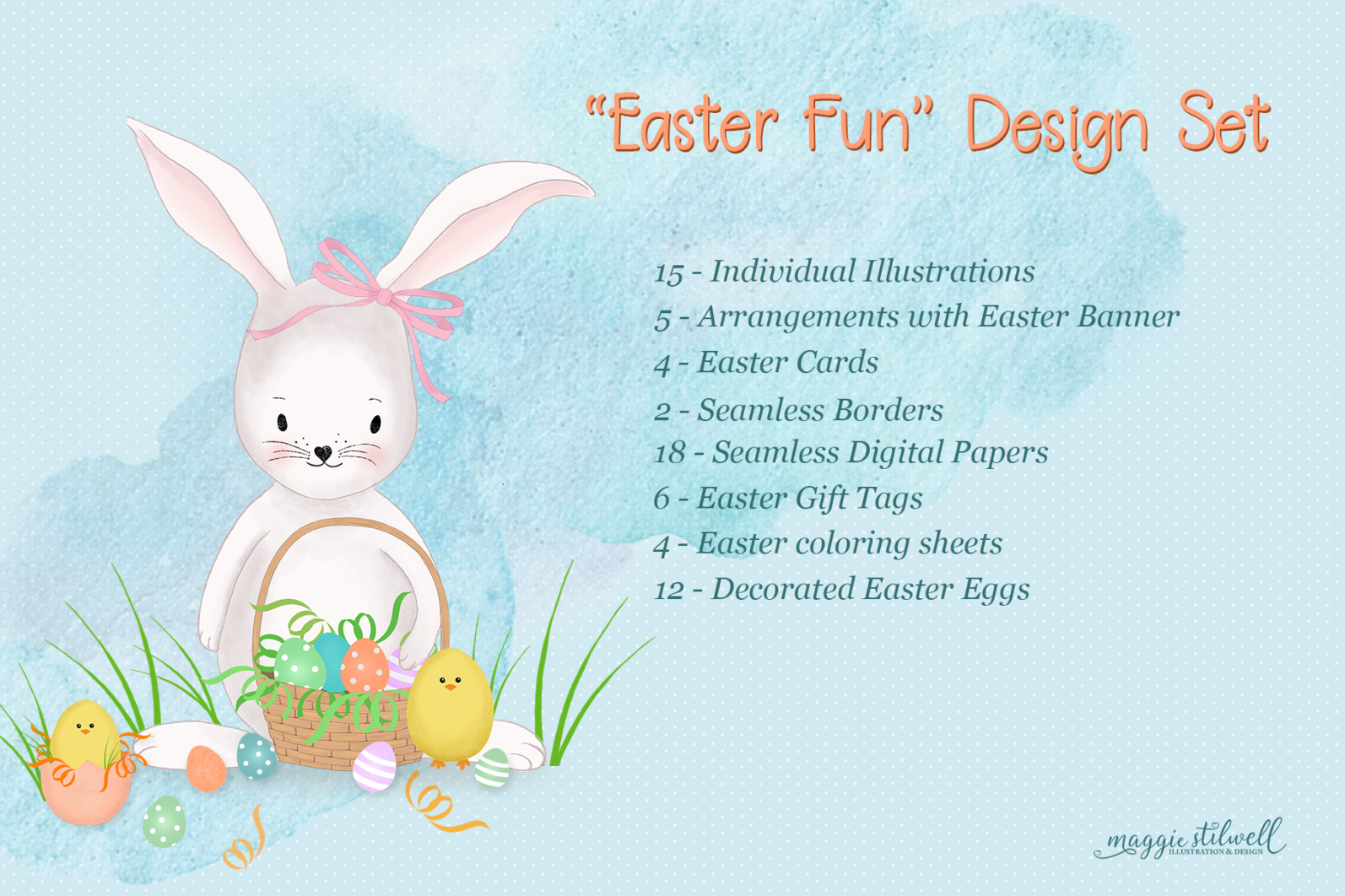 """""""Easter Fun"""" Design Set - title page -"""