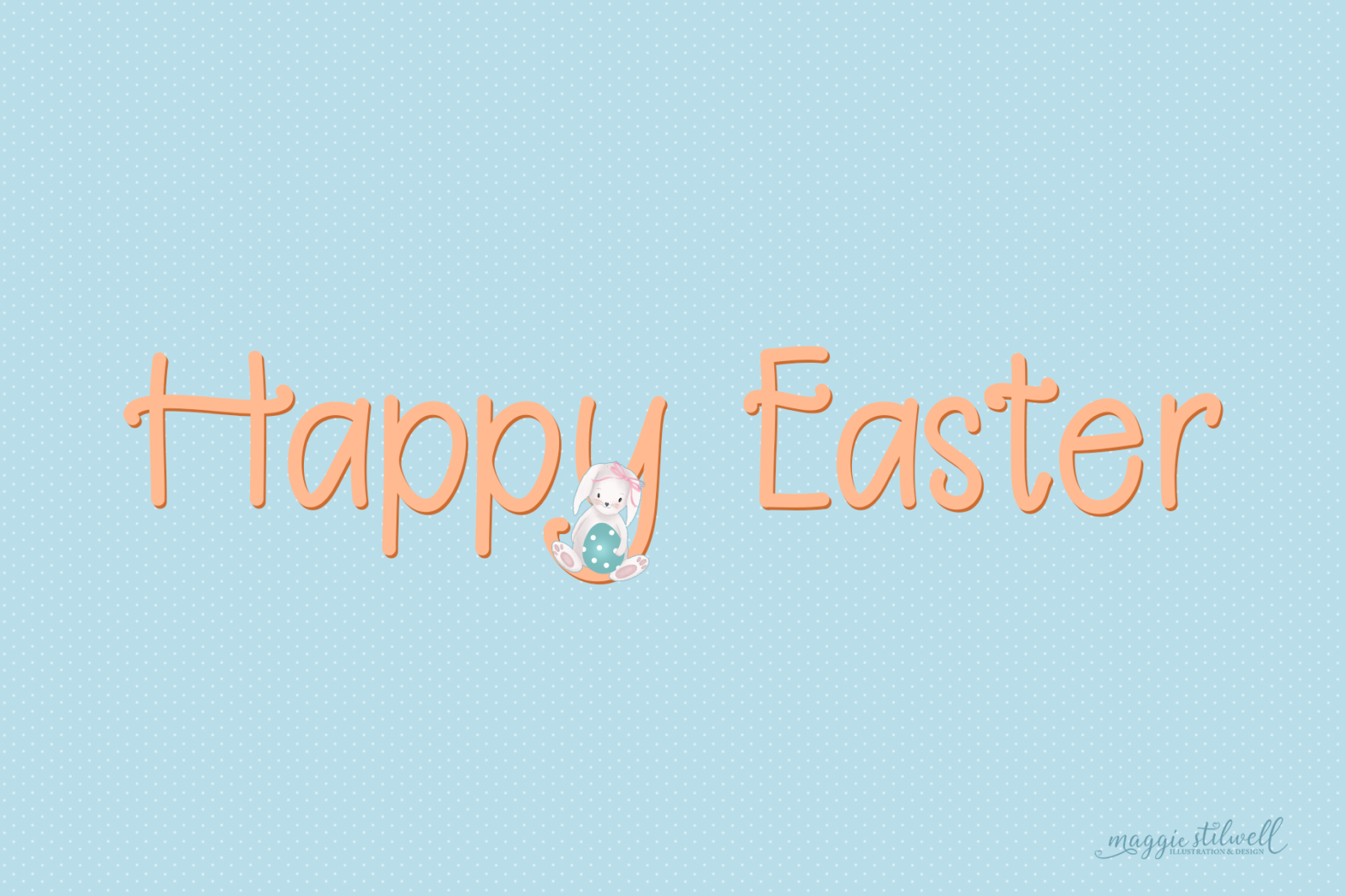 """Easter Fun"" Design Set - easter thankyou page -"