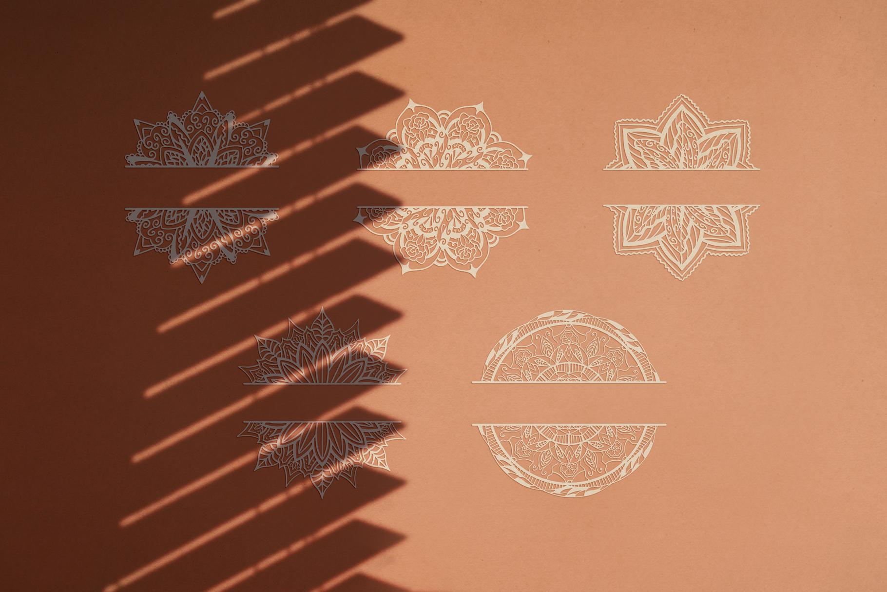 Download Mandala Monogram SVG Designs for Crafters - Crella