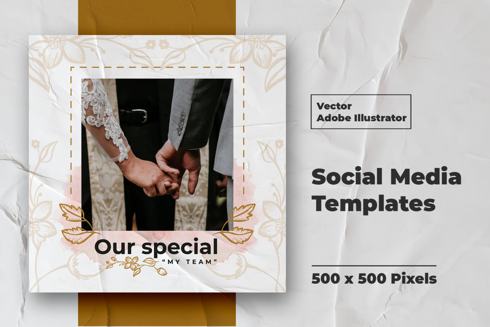 Wedding Instagram Feed Vector - 3 78 -