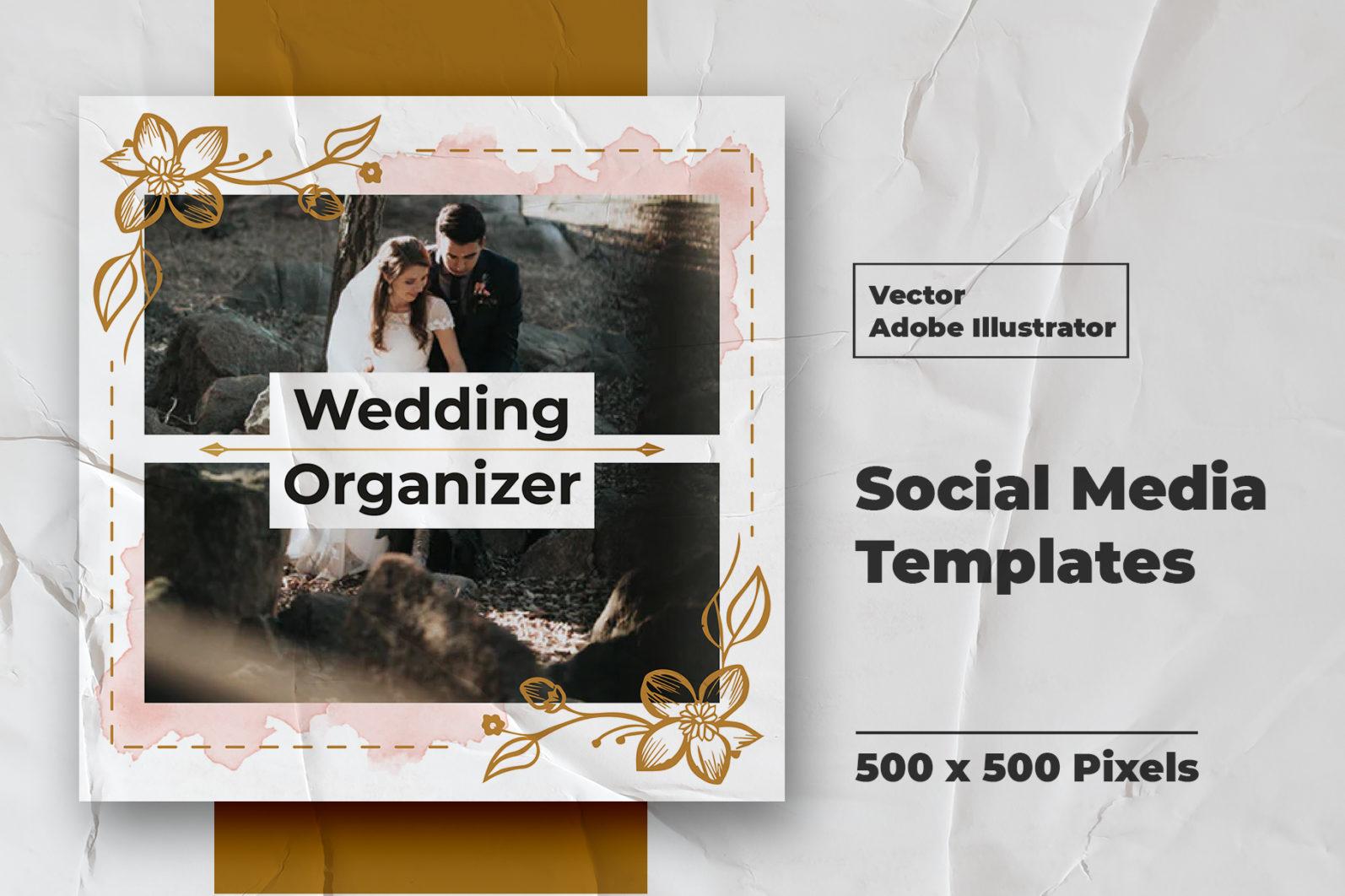 Wedding Instagram Feed Vector - 4 71 -