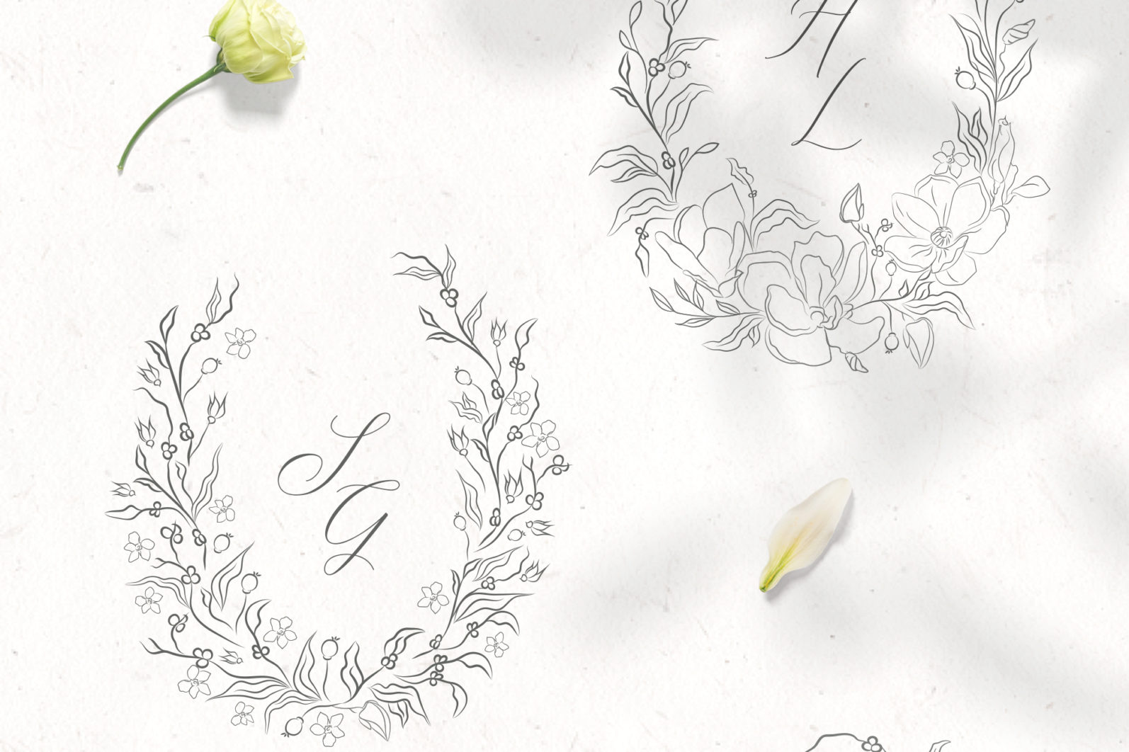 Floral Decorative Ornate Wreaths - ornate wreaths 1 scaled -