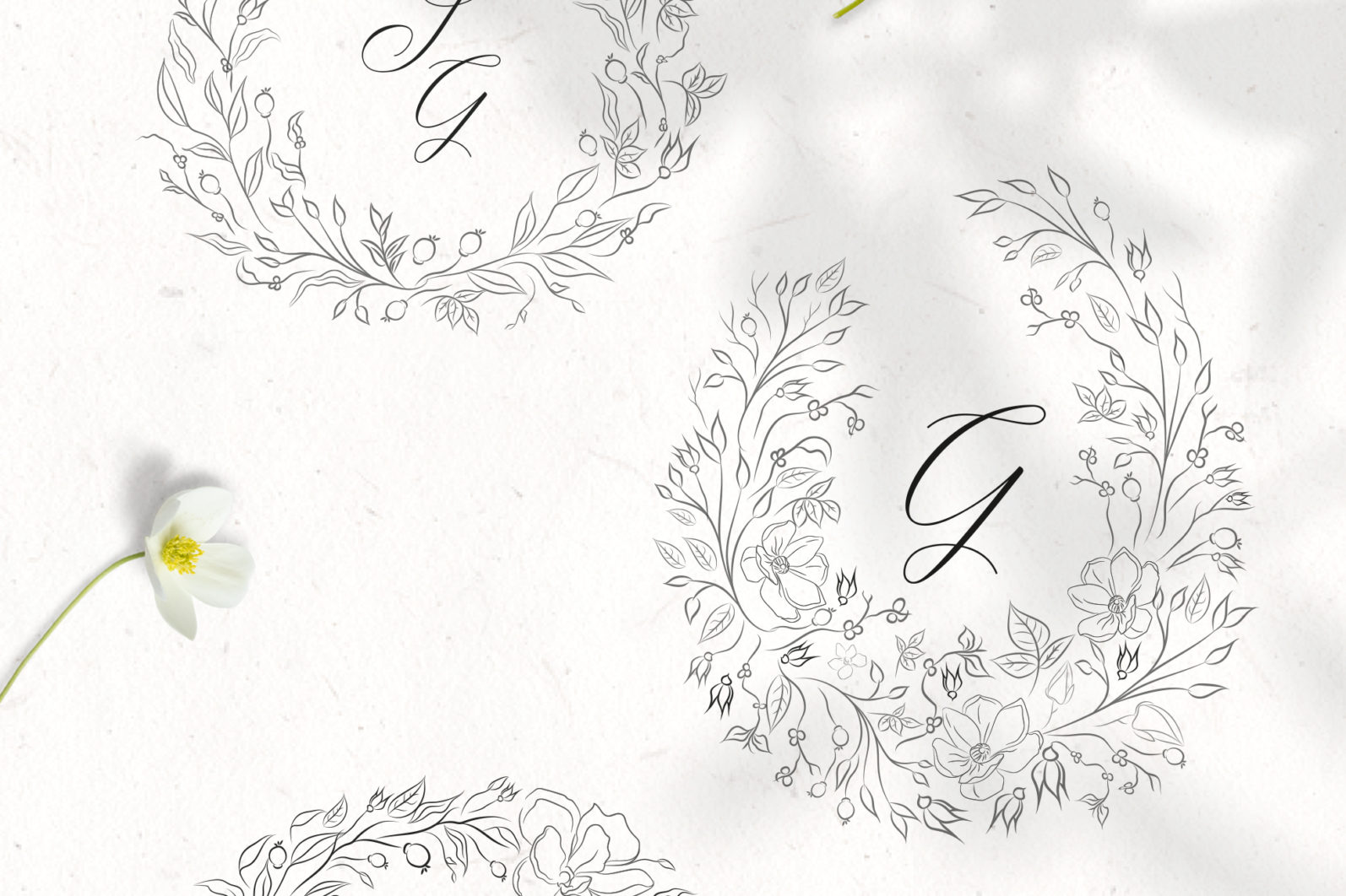 Floral Decorative Ornate Wreaths - ornate wreaths 3 scaled -