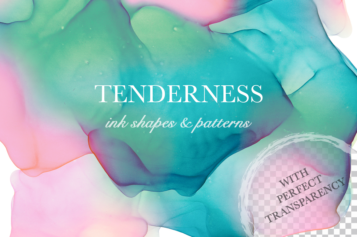 Tenderness. Ink Texture Collection. - pr1 8 -