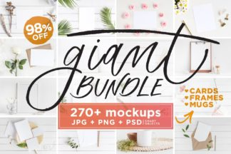"<span style=""display: none"">Mockup Bundles</span> - mockups frames cards mugs giant bundle -"