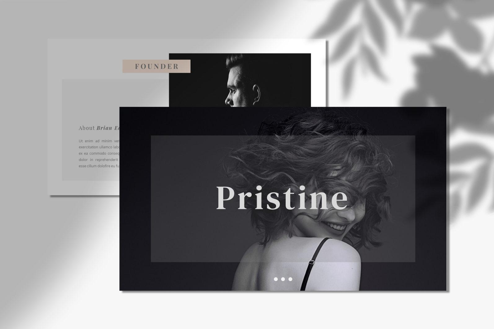 PRISTINE - PowerPoint Template - 2 99 -