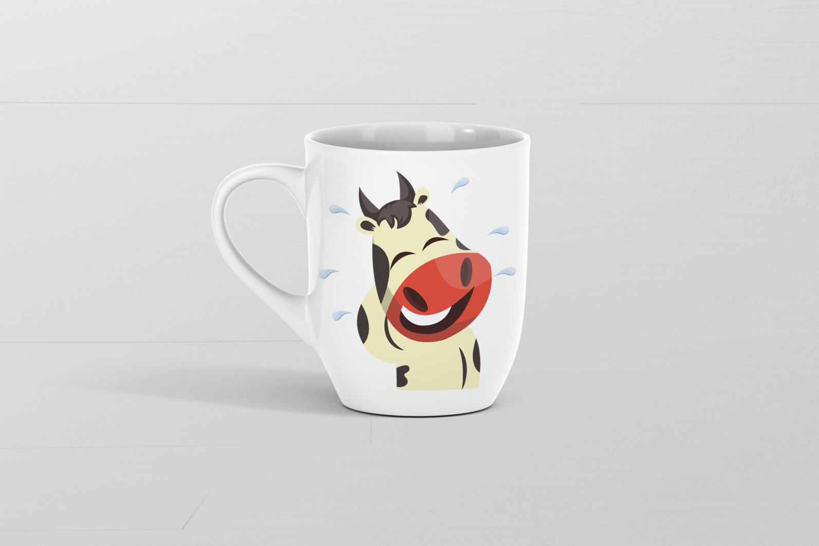 12x Cow Emotion Collection illustration. - 71 Cow MUG SECONDARY scaled -