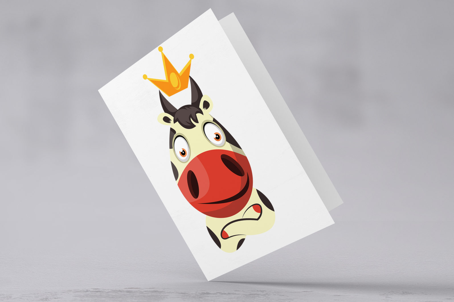 12x Cow Emotion Collection illustration. - 71 Cow CARD SECONDARY scaled -