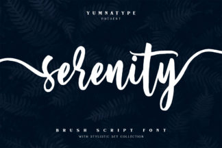$1 Font Deals - SerenityCM 01 1 -