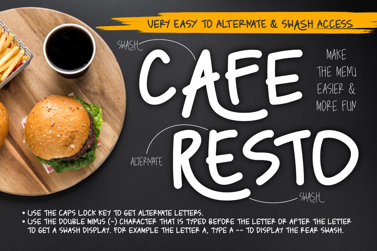 Caferesto - Preview Caferesto Cover 2 -