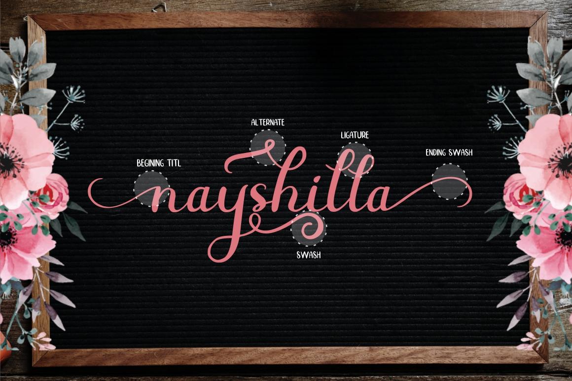 Beauty Nayshilla Font Duo - 2 289 -