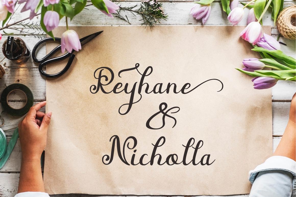 Beauty Nayshilla Font Duo - 5 282 -