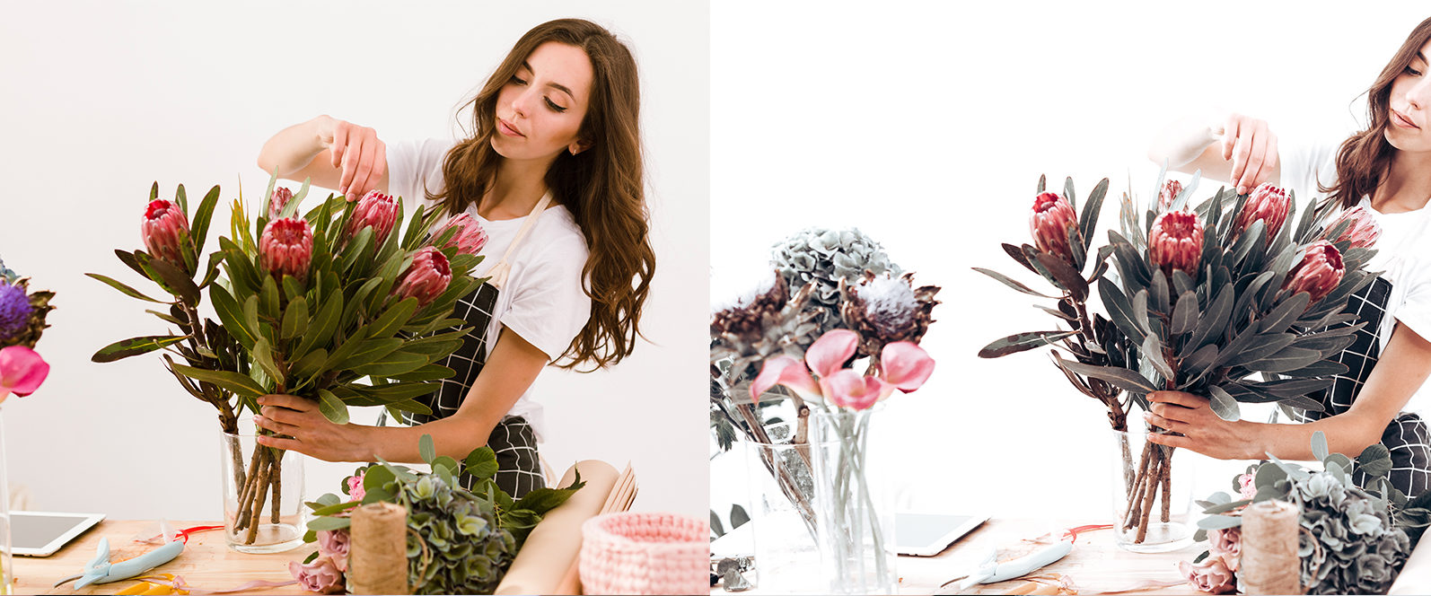 65 x Lightroom Presets (Mobile and Desktop Bundle) inspired by Spring - 9 Floristry -