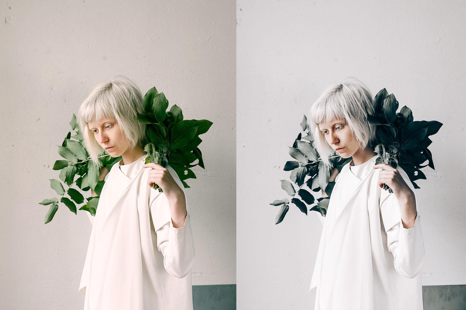 12 x Lightroom Presets | Minimalistic White | Mobile + Desktop - 2 Minimalist White -