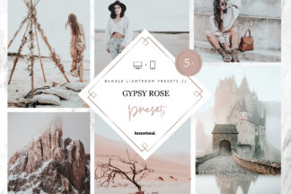 Lifestyle Lightroom Presets - Gypsy Bundle -