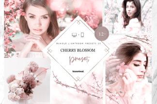 Green Lightroom Presets - Cherry Blossom Bundle -