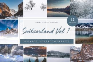 Sunset Lightroom Presets - Switzerland Vol. 1 DESKTOP -