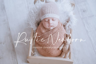 Boho Wedding Lightroom Presets - Rustic Newborn Preview 2 -