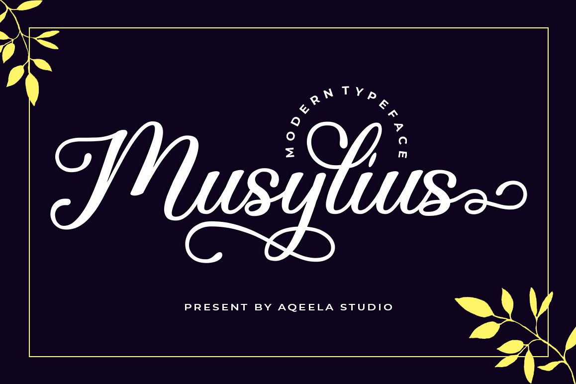 Bundles Creative Fonts for New Projects - 6 321 -