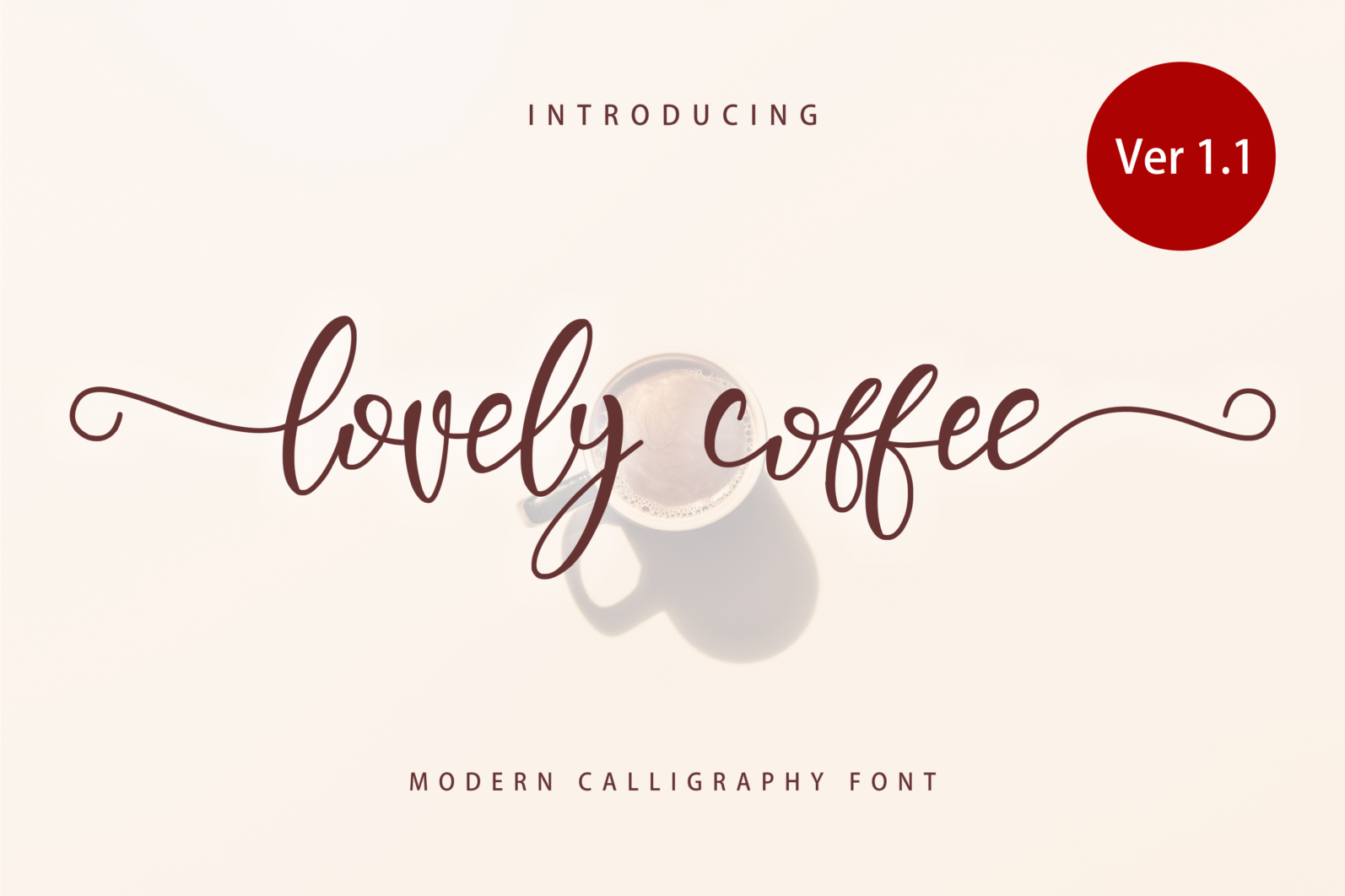 Creative Font Bundle - Preview Lovely Coffee 1 -