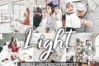 $1 Lightroom Preset Deals - lightroom mobile presets cover light 2 -