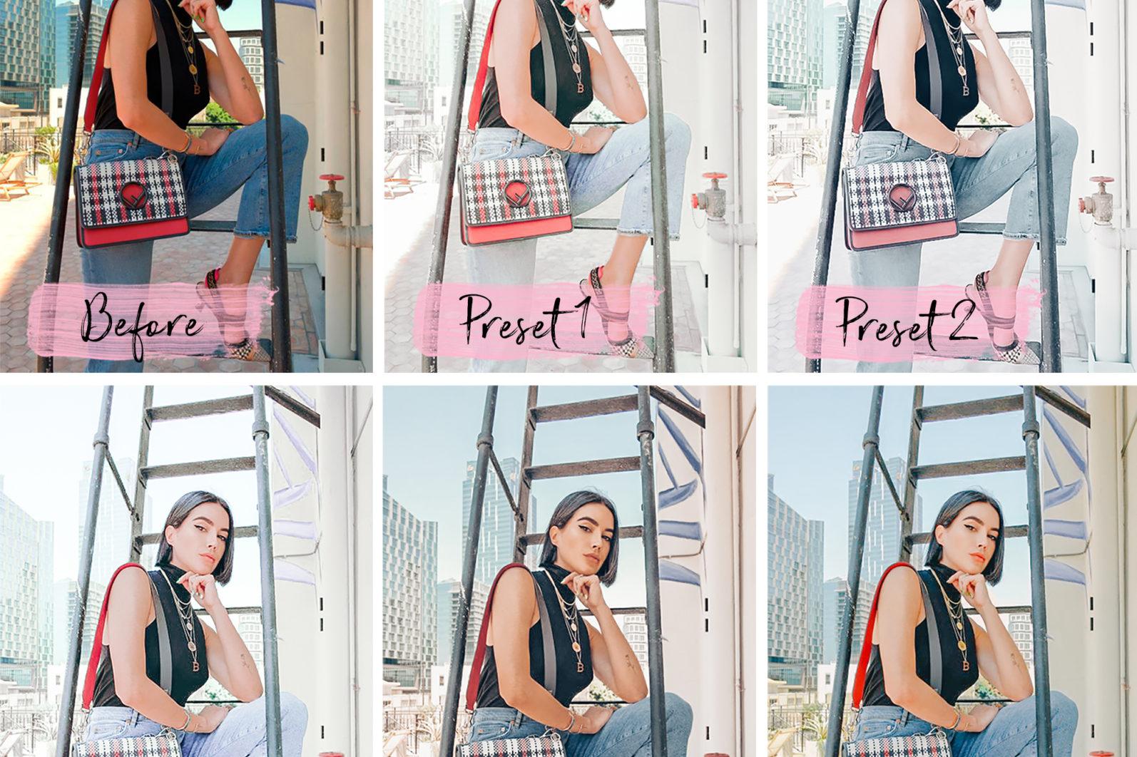 5 Mobile Presets LIGHT - lightroom presets product page 3 -