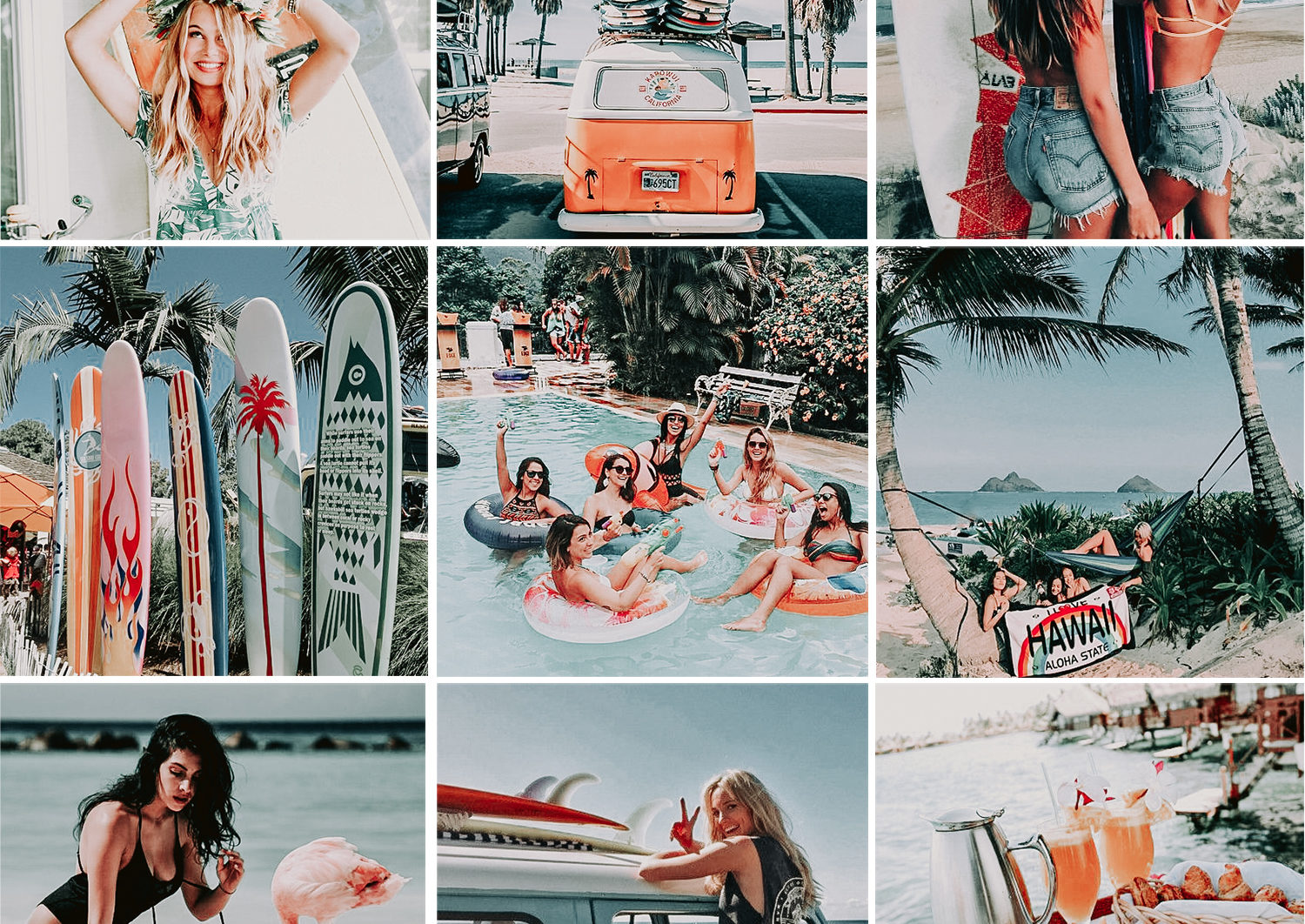 5 Mobile Presets TROPICAL - lightroom presets cover product 6 -