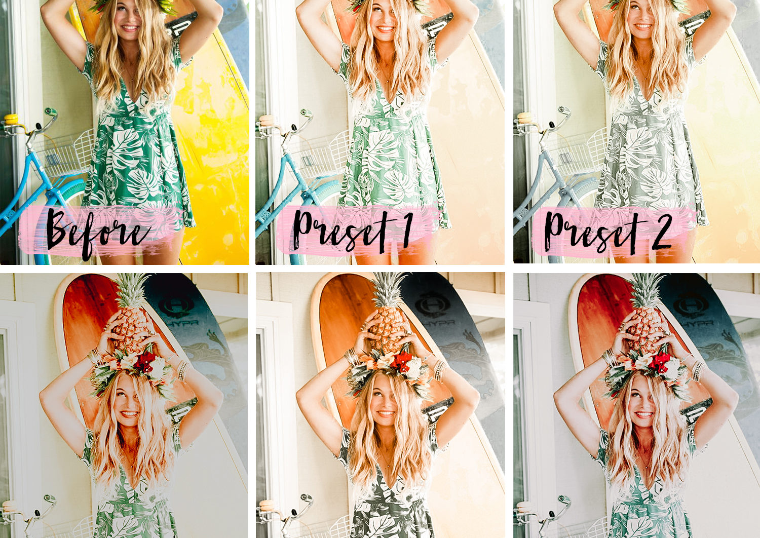 5 Mobile Presets TROPICAL - lightroom presets product page 1 1 -