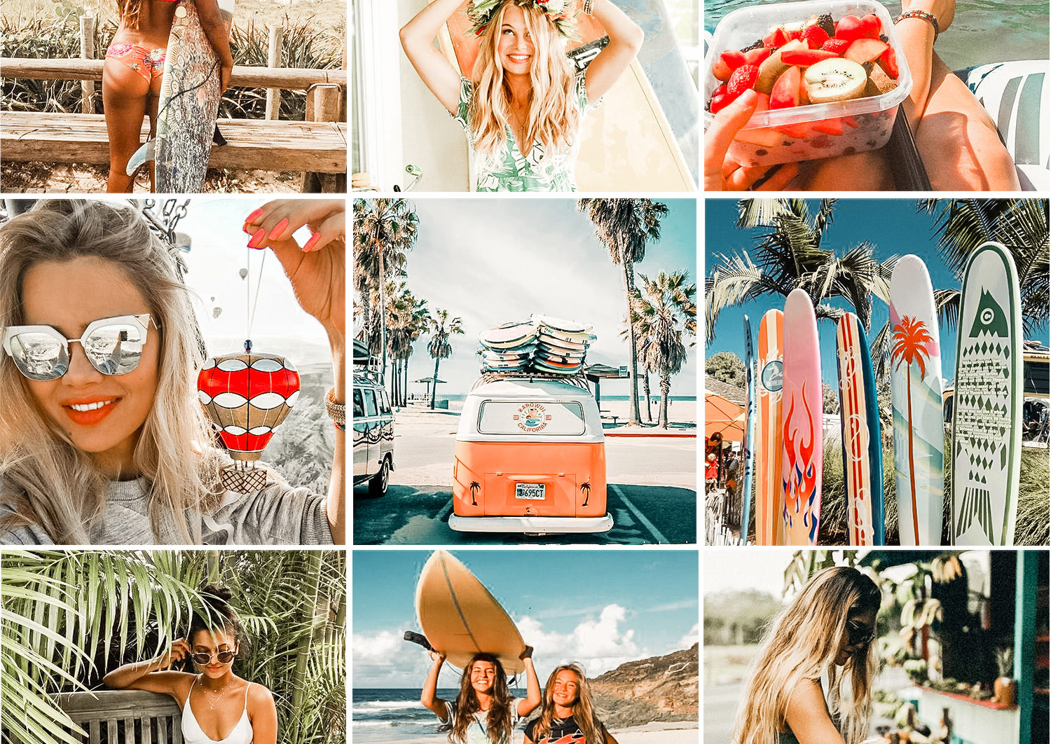 5 Mobile Presets TROPICAL - lightroom presets cover product 2 1 -