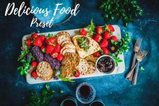 Food Lightroom Presets - CF Delicious Food -