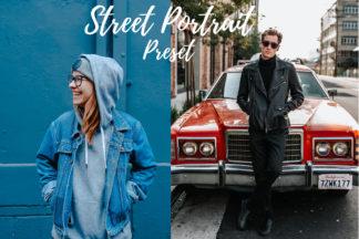 Desktop Lightroom Presets - CF Street Portrait -
