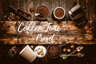 Desktop Lightroom Presets - CF Coffee Time -