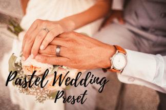 Desktop Lightroom Presets - CF Pastel Wedding -
