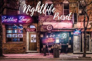 Desktop Lightroom Presets - CF Nightlife -