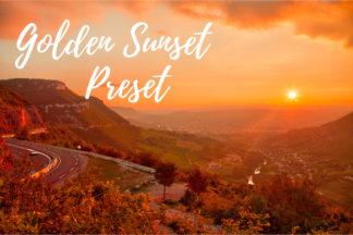 Desktop Lightroom Presets - CF Golden Sunset -