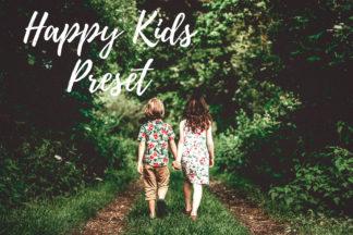 Desktop Lightroom Presets - CF Happy Kids -