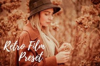 Free Lightroom Presets - CF Retro Film -