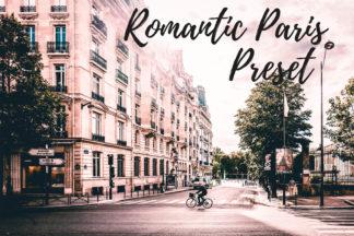 Desktop Lightroom Presets - CF Romantic Paris -