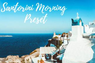 Desktop Lightroom Presets - CF Santorini Morning -