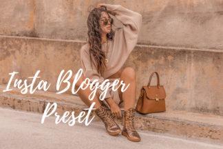 Desktop Lightroom Presets - CF Insta Blogger -