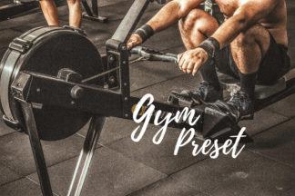 Desktop Lightroom Presets - CF Gym -