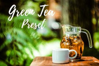 Desktop Lightroom Presets - CF Green Tea -