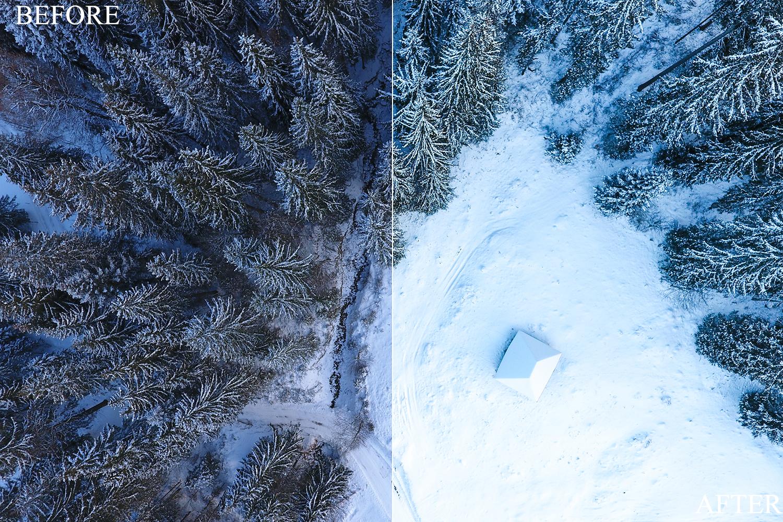 Lightroom Presets - Drone Bundle - BeforeAfter 7 1 -