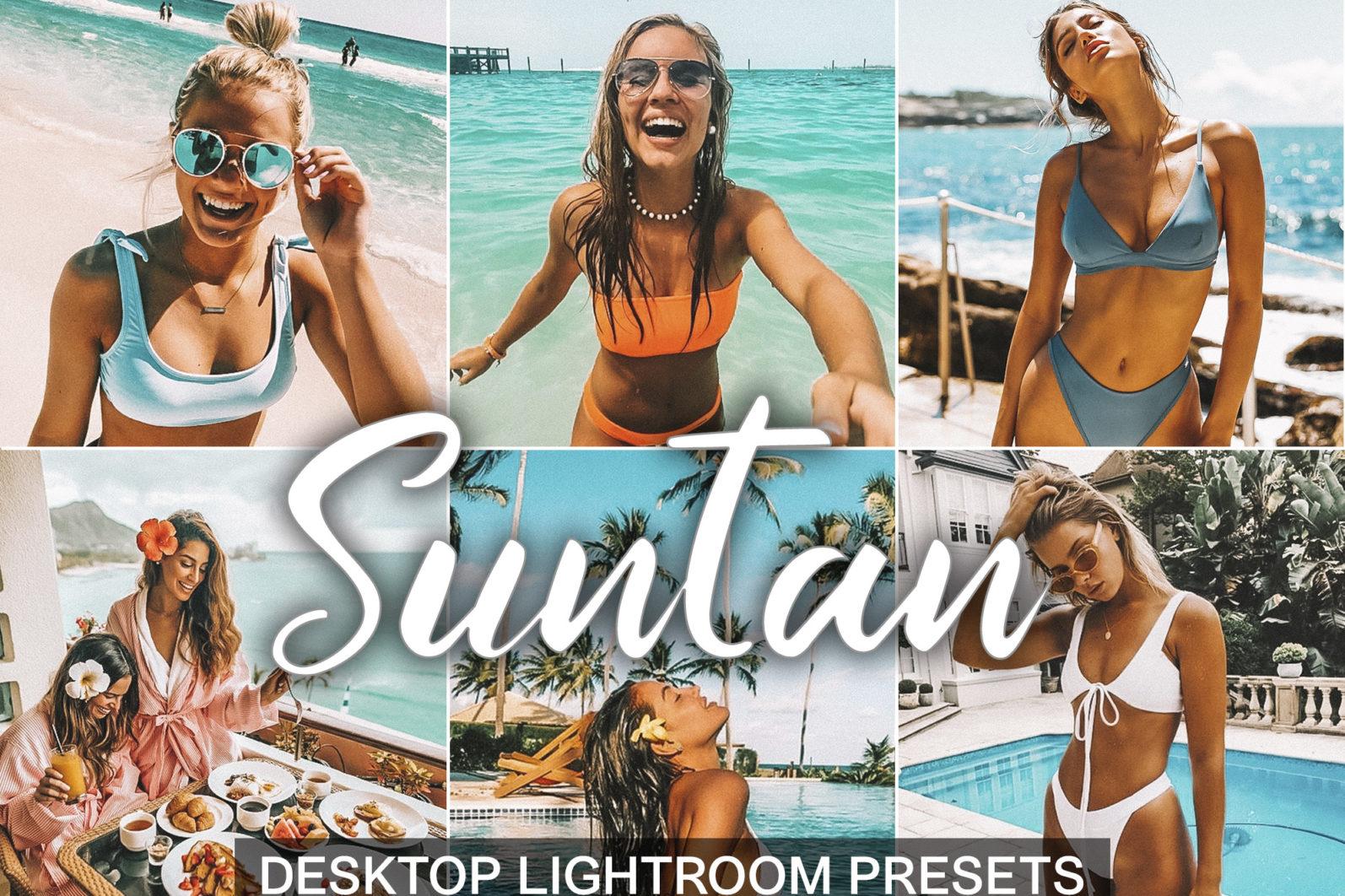 10 Mobile & Desktop Presets SUNTAN - desktop lightroom presets cover product 21 5 Suntan -