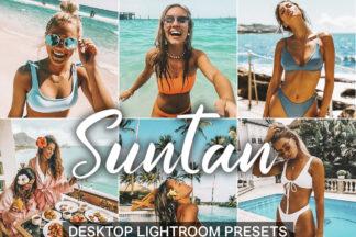 $1 Lightroom Preset Deals - desktop lightroom presets cover product 21 5 Suntan -