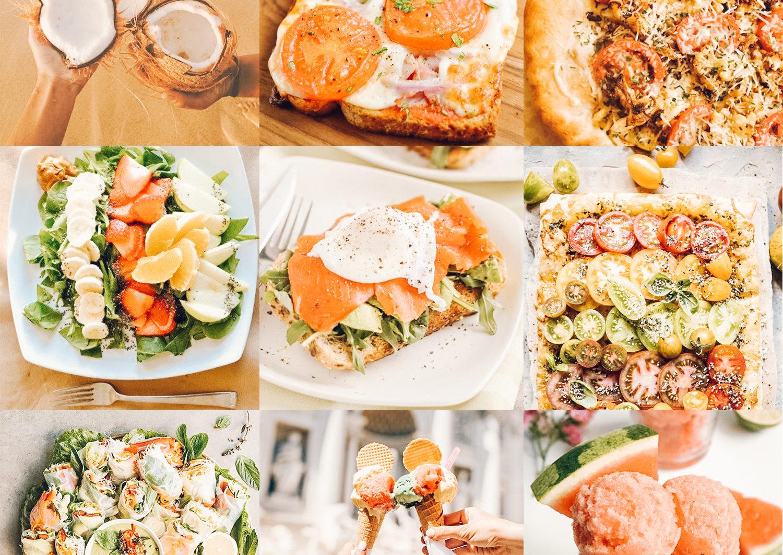 10 Mobile Presets FOOD BLOGGER - food blogger lightroom presets cover product 1 -