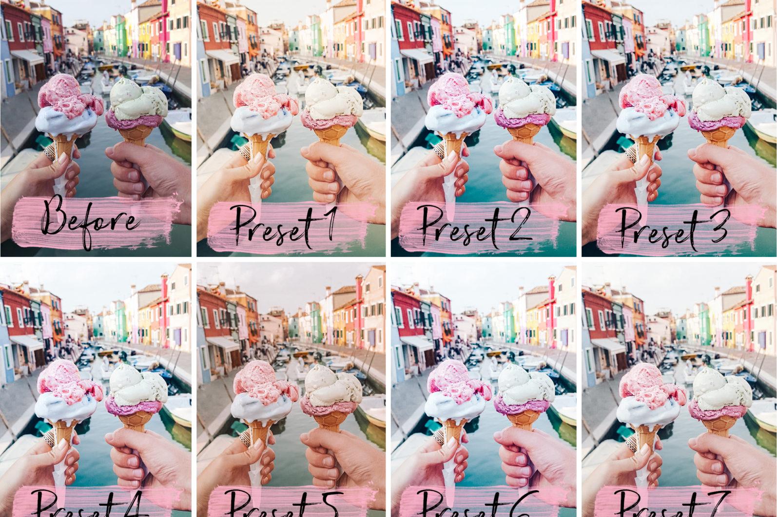 10 Mobile Presets FOOD BLOGGER - food blogger lightroom presets cover product 3 -