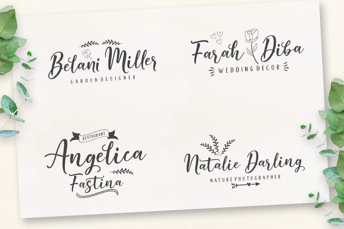 Good Selection Font Duo + Extras - 4 197 -