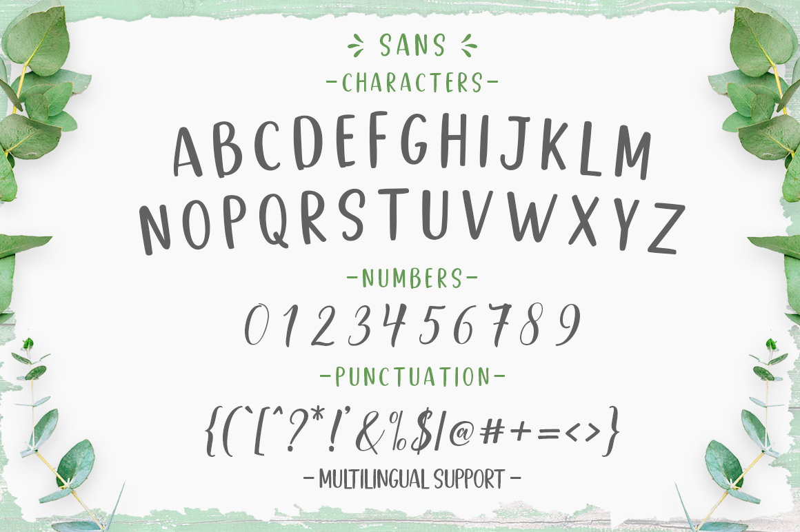 Good Selection Font Duo + Extras - 9 34 -