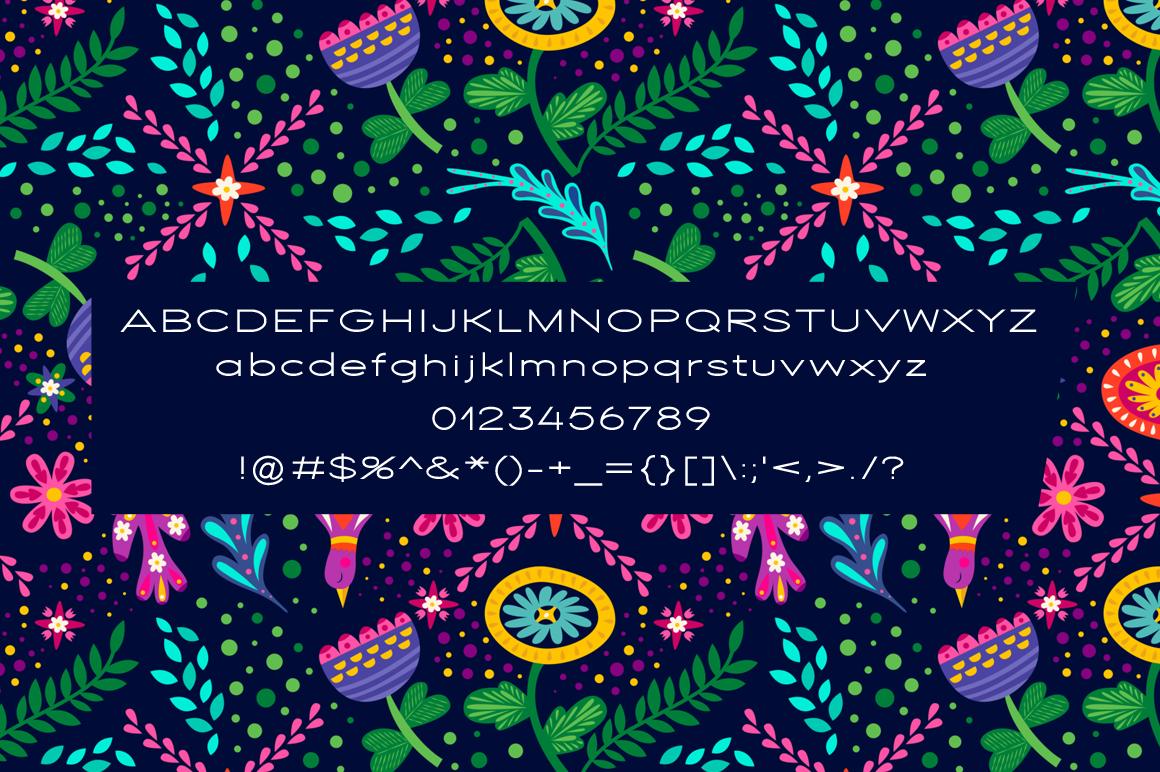 Floweret Typeface - Floweret Preview 3 -